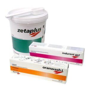 Zetaplus set (Oranwash L+ Indurent)