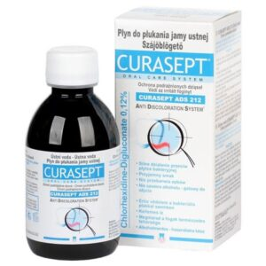 Curasept ADS 212 klórhexidin tartalmú szájöblögető 200ml