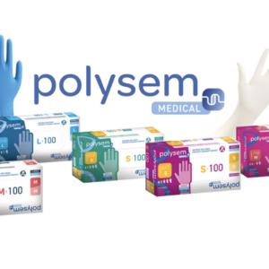 Gumikesztyű Polysem Nitril XS 100db